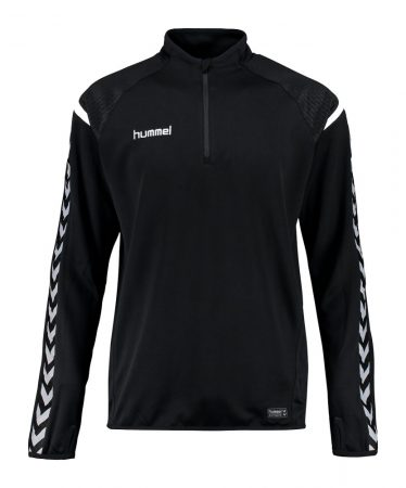 Hummel CORE POLY HALF ZIP SWEATSHIRT BLACK